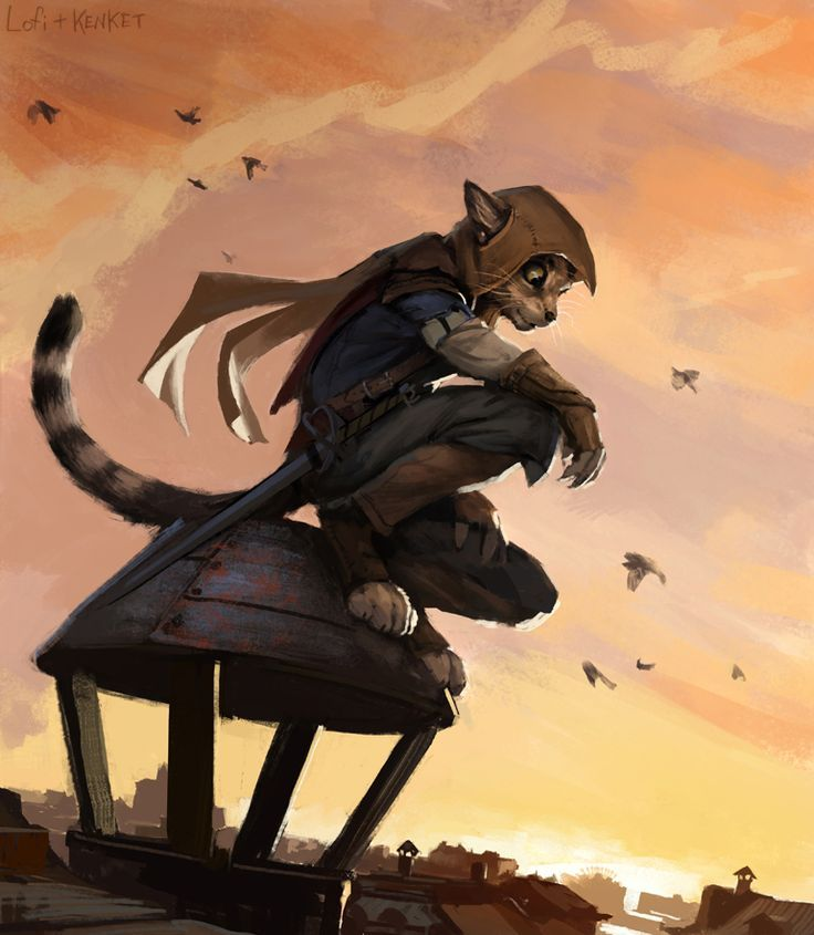 Image Result For Tabaxi Investigator  Rpg Characters -1596