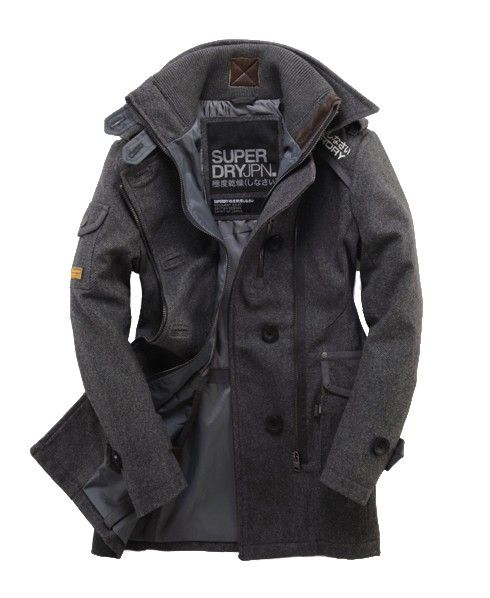 c23507dc87abe3 Superdry Regiment Coat. Ughhh my perfect coat. Somebody buy it for me! I  just realized I've already pinned this in a different color. Haha!