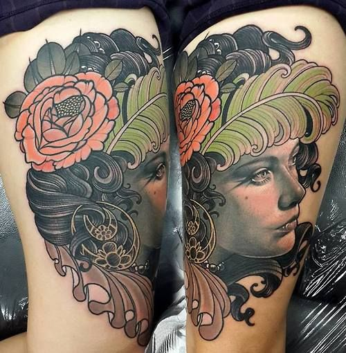 By matt jordan (an Emily Rose Murray inspired piece). I love the combo of flat and shaded.