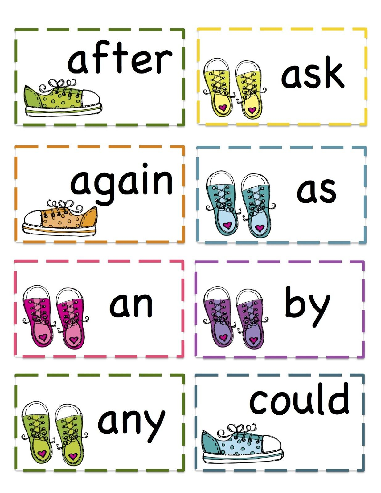 First Grade Sight Words Worksheets [ 1600 x 1236 Pixel ]