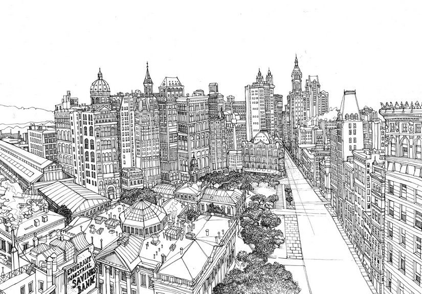 secret paris coloring pages google search - New York City Coloring Pages