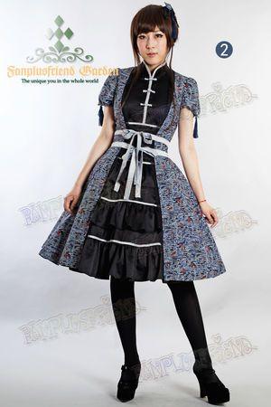 c916d2186ad3e チャイナドレスイメージのロリィタファッション「Qi Lolita」 - NAVER まとめ