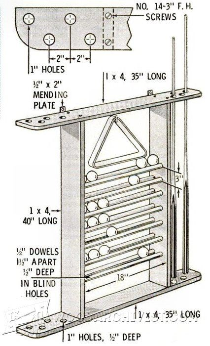 2646 pool cue rack plans woodworking pinterest pool for Pool table woodworking plans
