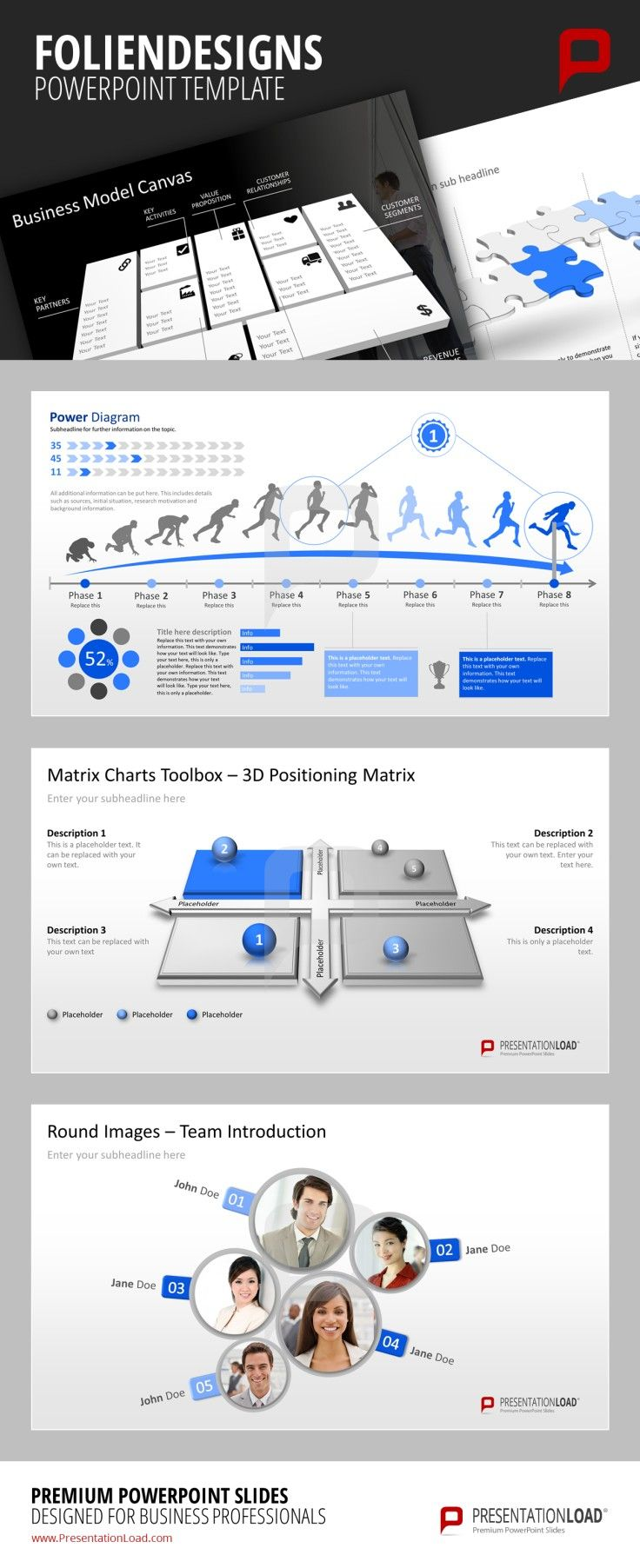 Professional PowerPoint Template Premium PowerPoint Slides for ...
