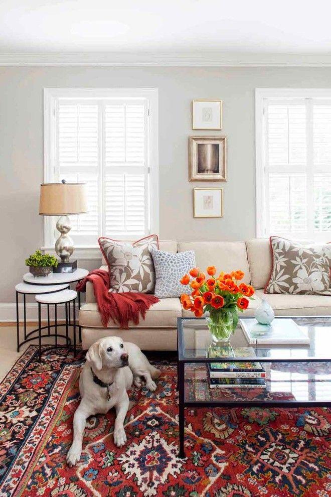 Blumendekoration- 47 aktuelle Ideen Interiors - wohnzimmer ideen orange