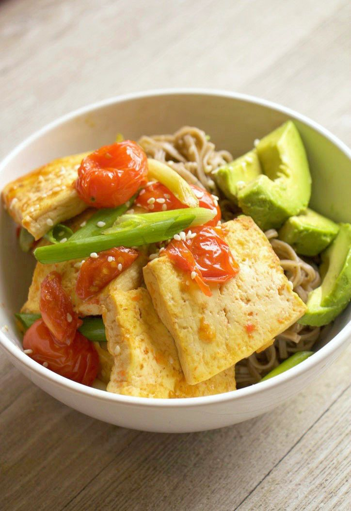 Tofu Protein Bowl