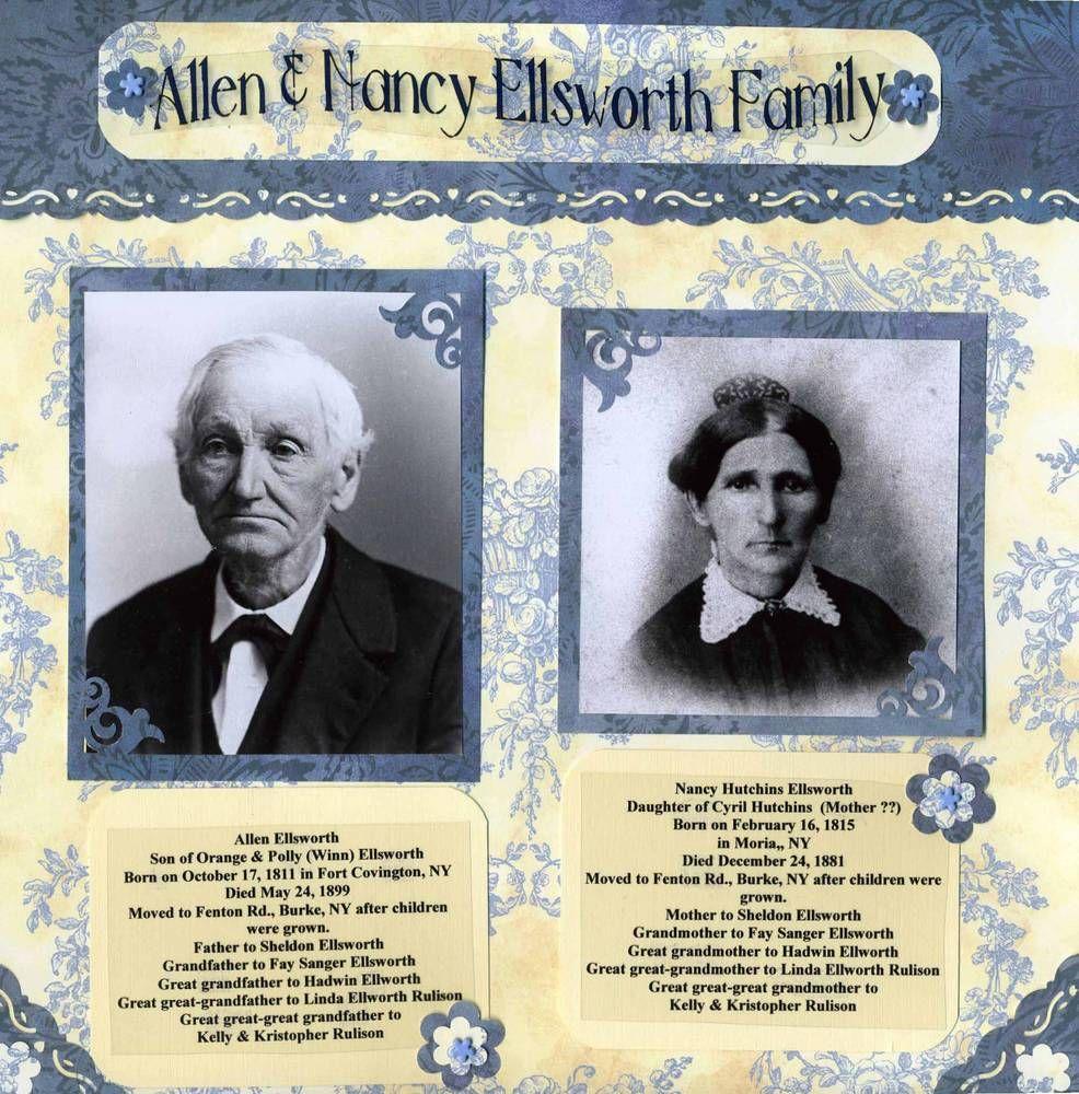 Family scrapbook ideas on pinterest - Family Heritage Scrapbook Com