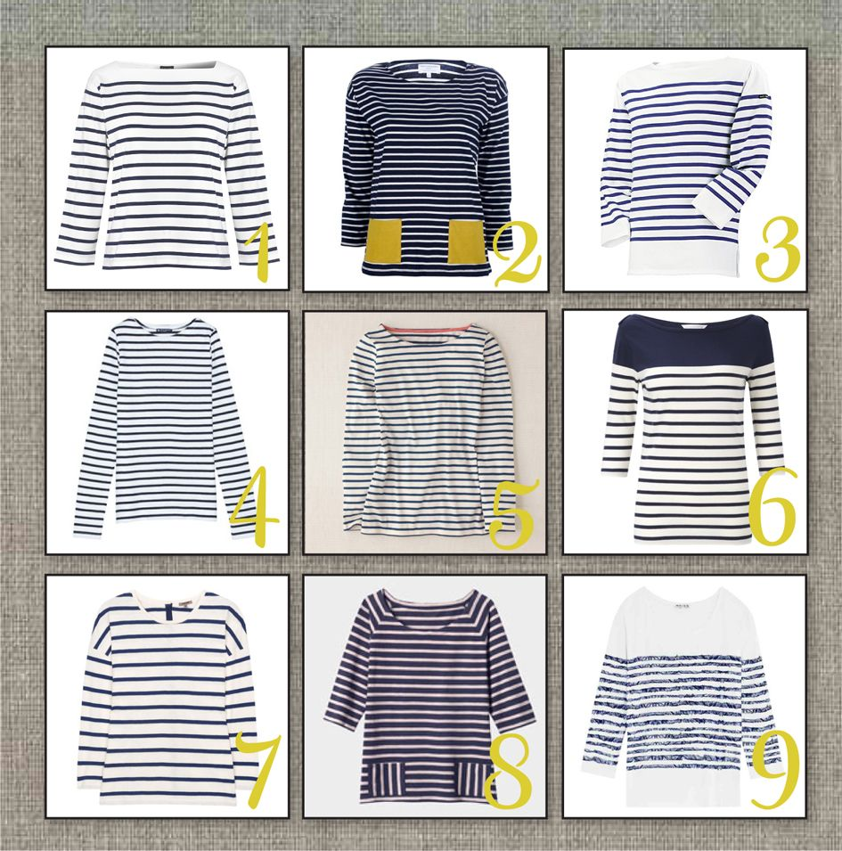 Current Obsession: Breton Striped French Sailor Top
