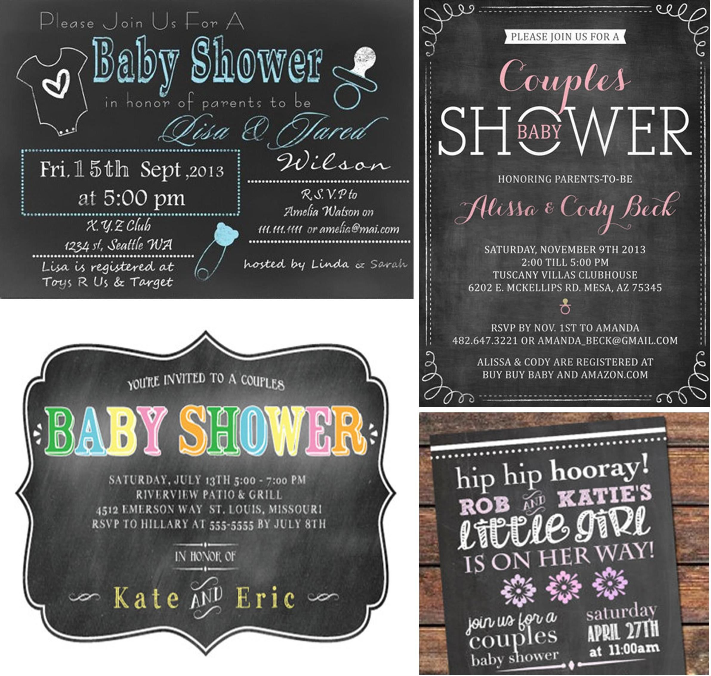 Couples baby shower invitations wording baby shower ideas couples baby shower invitations wording stopboris Images