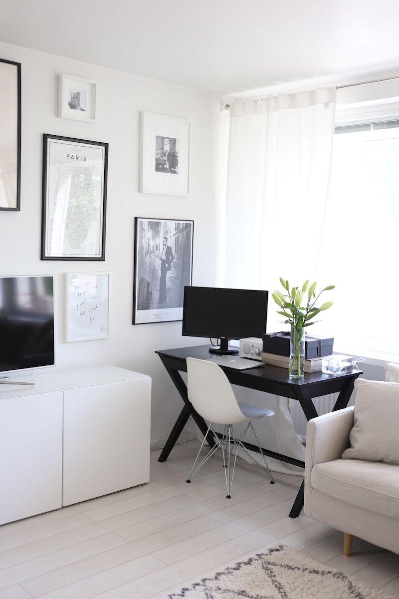 Vastauksia kotitoimistolta – minun tyylini | Space gallery, Office ...