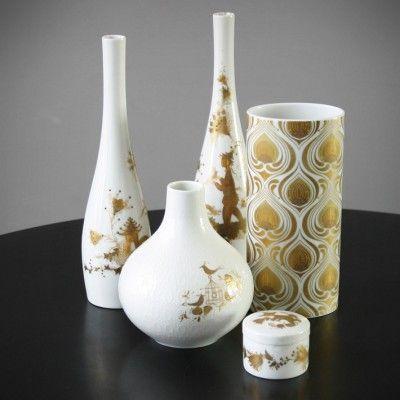 Quatre Couleurs Vase by Bjørn Wiinblad for Rosenthal