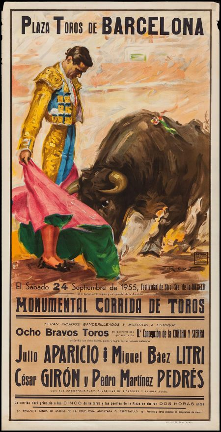 Spanish Bullfighting Posters (Ortega Valencia, c.1970s). | Lot #53464 | Heritage Auctions