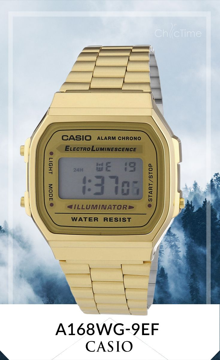 Montre Casio Couleur Or destiné la montre casio a168wg-9ef est l'accessoire indispensable pour les