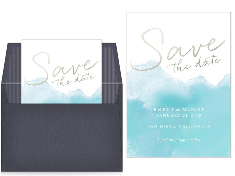 Online Save The Date Etiquette Plus Our Favorites Theknot