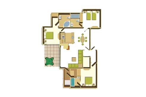 Holiday Lodges And Self Catering Accommodation Floor Plans House Floor Plans Center Parcs Uk