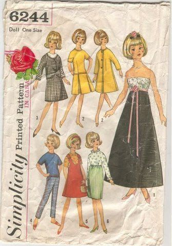 Simplicity 6244 - Jennifer Rees - Picasa Web Albums | Barbie & Ken ...