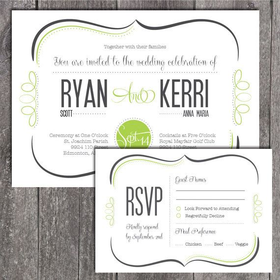 Diy printable wedding invitation and printable by notesandknots diy printable wedding invitation and printable by notesandknots solutioingenieria Gallery