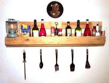 Küchenregal aus europaletten  einFACHfuerDich - Möbel aus Paletten - Küchenregal | Möbel aus ...