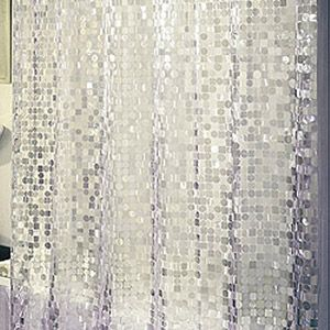 Home Vinyl Shower Curtains Silver Shower Curtain House Styles