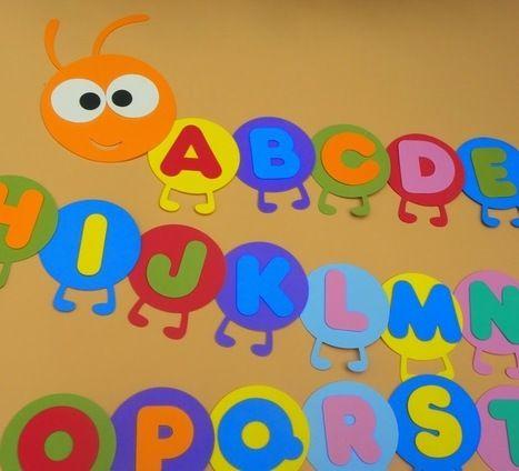Para decorar el aula en eva manualidades infantiles el for Decoracion aula infantil