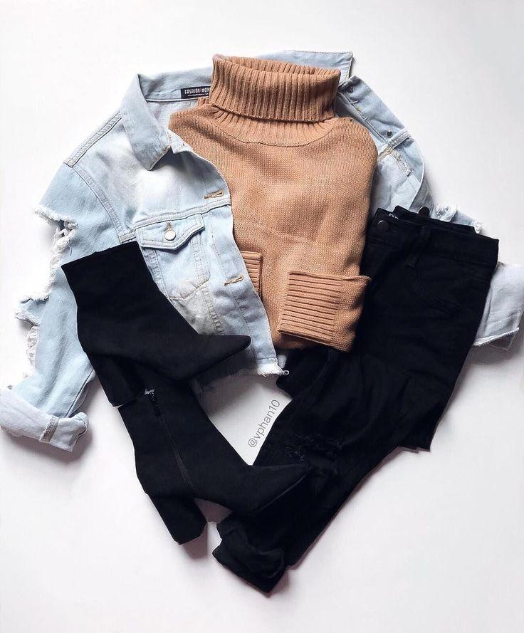 Teen Fashion für die Schule, die wunderschön aussehen #teenfashionforschool #winteroutfitsforschool