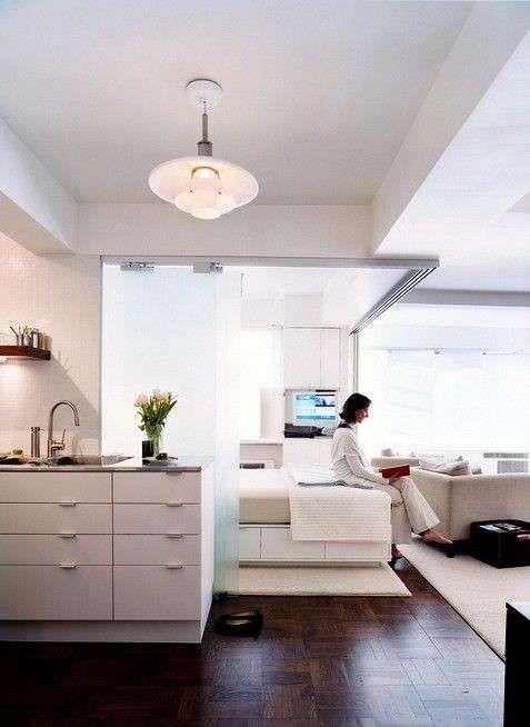 Arredare un monolocale   Design appartamento piccolo ...