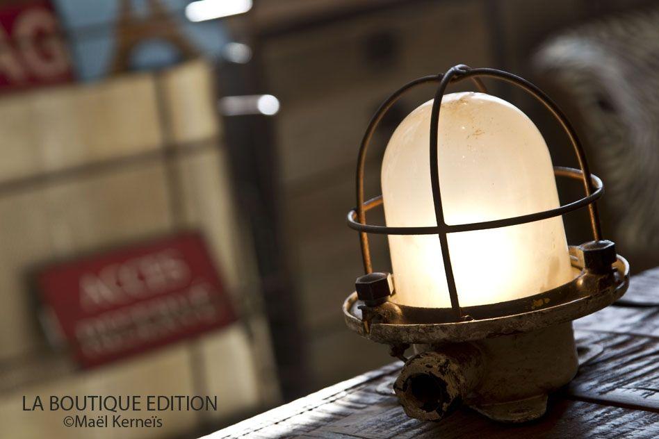 Petit Phare De Bateau Oceanic Luminaire Industriel Lamp La Boutique Paris