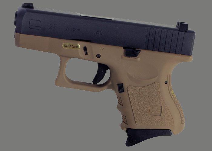 WE Glock 27 GBB Pistols At Airsoft Helper | Airsot guns