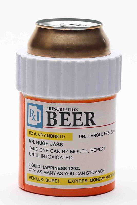 Pill Bottle Prescription Koozie Funny Beer Koozies Pill Bottles Koozies