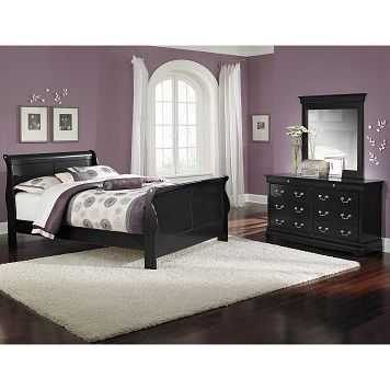 Avignon Black Bedroom 40 Pc Queen Bedroom Furniture 4040 Amazing Avignon Bedroom Furniture Decor