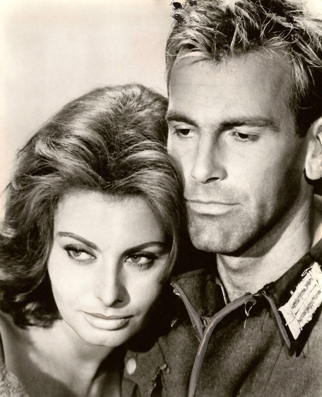 Sophia Loren & Maximilian Schell in The Condemned of Altona (1962)