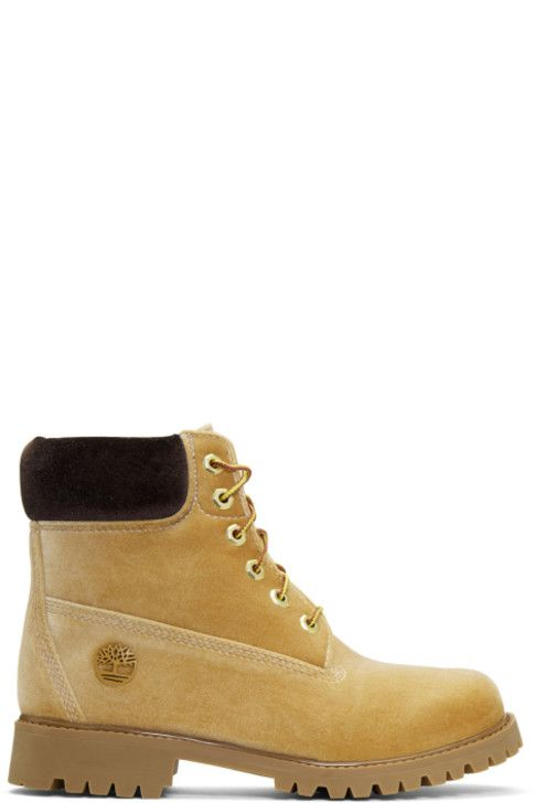 Footaction Online Tan Timberland Edition Velvet Boots Off-white 100% Guaranteed Online Clean And Classic Cheap Price Buy Discount kokm2b