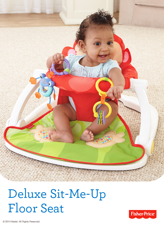 Headed To The Beach The Deluxe Sit Me Up Floor Seat Provides A