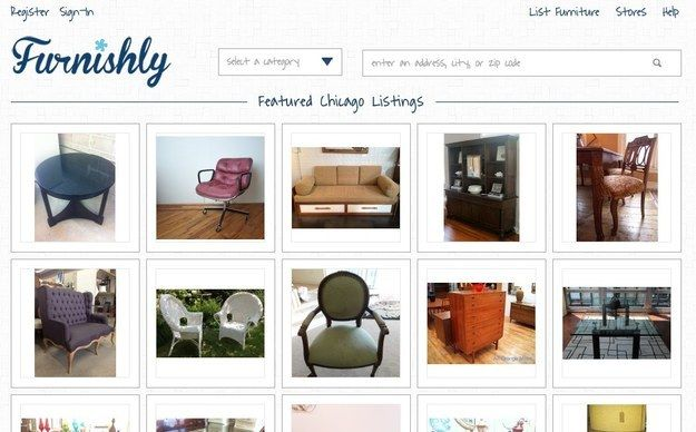 Furnishly | 9 Websites To Buy And Sell Used Furniture That Aren't Craigslist