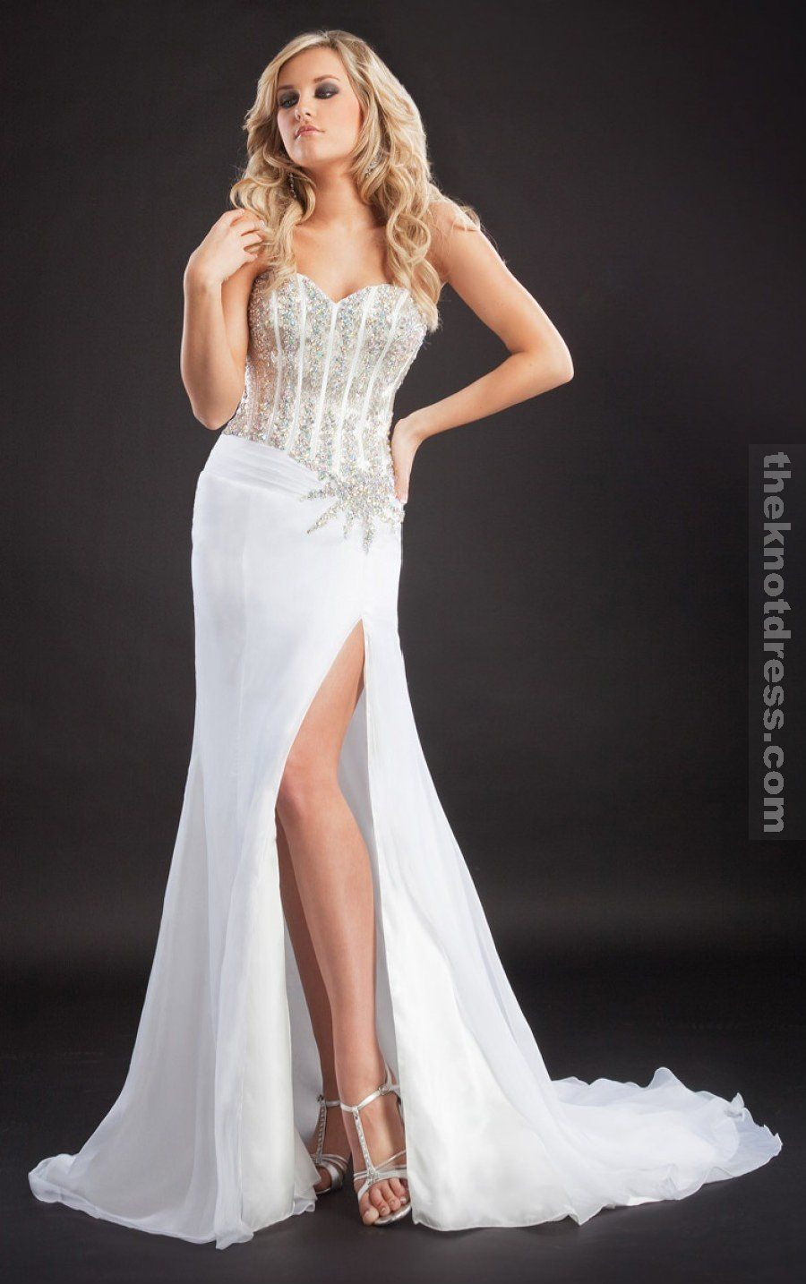 Plus size white formal dress a wedding idea pinterest white