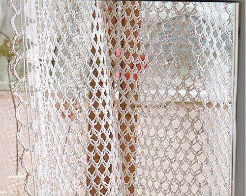 CROCHETBUTTERFLY Crochet Curtain Pattern
