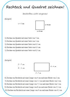 Fächerübergreifend leicht gemacht: Rechteck und Quadrat konstruieren ...