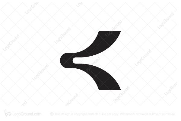 The Symbol Itself Will Looks Nice As Social Media Avatar And Website Or Mobile Icon K Letter Brand