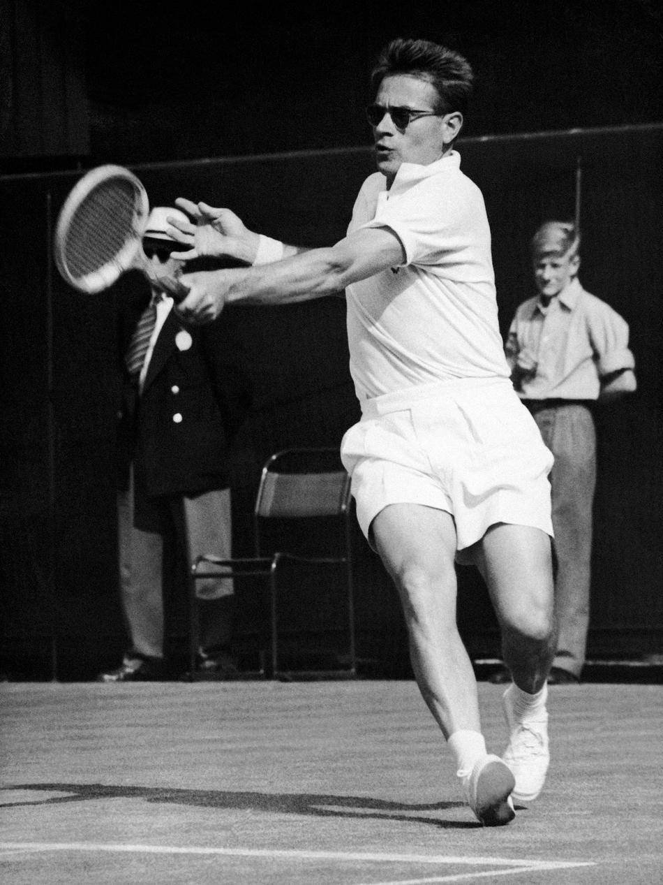 Jaroslav Drobn½ 1953 Wimbledon Gentlemen s Singles Quarterfinal
