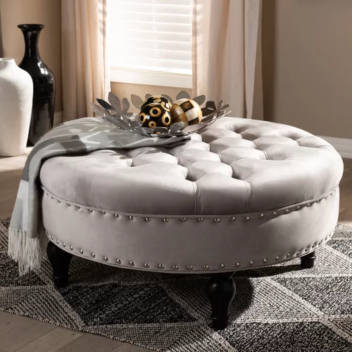 Stephon Tufted Cocktail Ottoman With Images Cocktail Ottoman