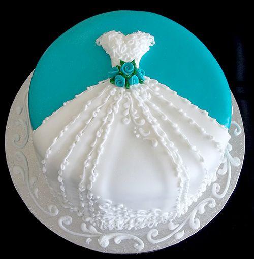 Wedding Shower Dress Cake | Wedding-Dress-Cake-Nadines-Wedding-Cakes ...