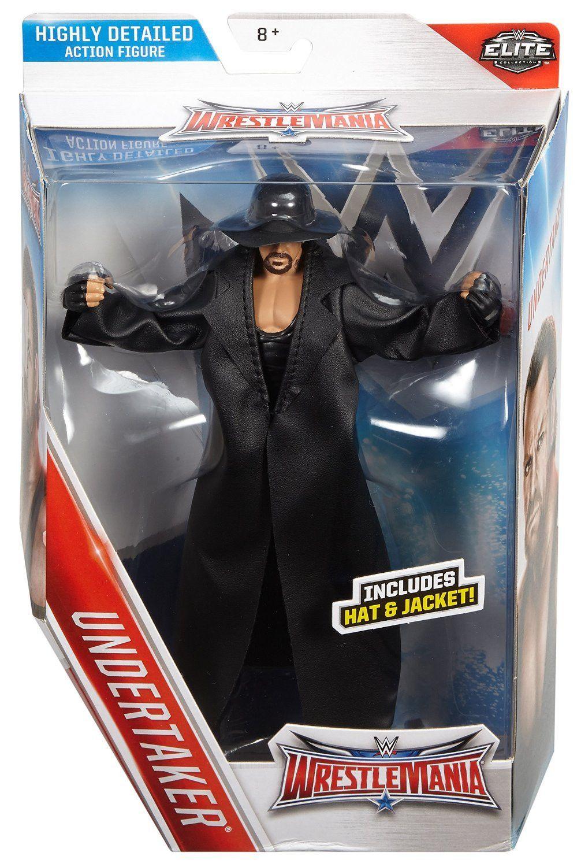 WWE Wrestlemania 32 Elite Undertaker Figure | WWE | Pinterest