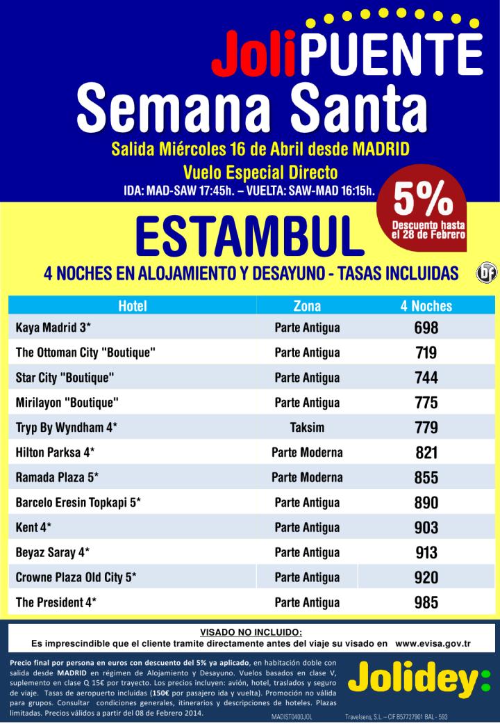 Semana Santa a Estambul desde 698€ tax incluidas.Salidas desde MAD, Miercoles 16 de Abril ultimo minuto - http://zocotours.com/semana-santa-a-estambul-desde-698e-tax-incluidas-salidas-desde-mad-miercoles-16-de-abril-ultimo-minuto/