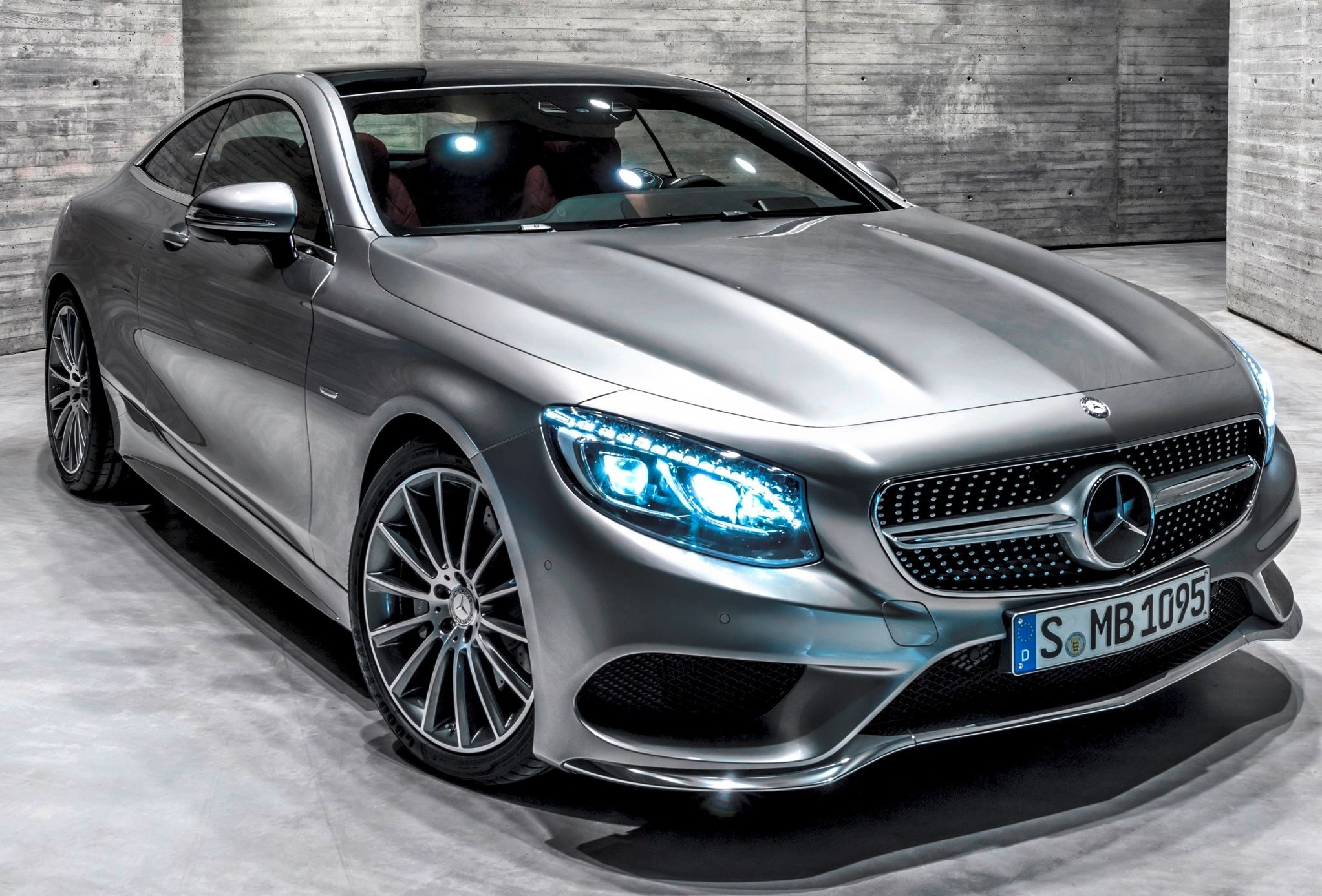 WOW! 2015 Mercedes-Benz S550 4MATIC Coupe — High-Sd, High-Fashion