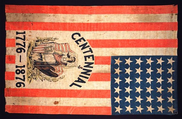 Centennial 1776 1876 Reposted By Dr Veronica Lee Dnp Depew Buffalo Ny Us American Flag American History Flag