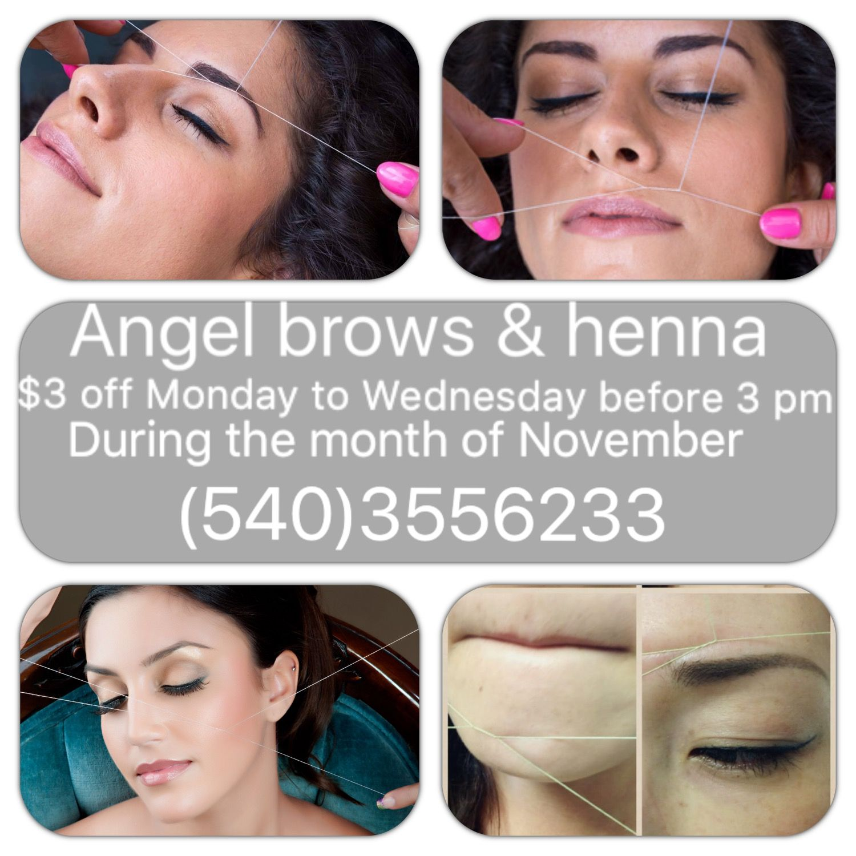 Angel Henna angelbrowsllc on Pinterest