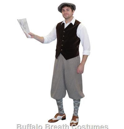newsie costumes | Newsie Costume for Rent/Buy | Buffalo Breath Costume Co