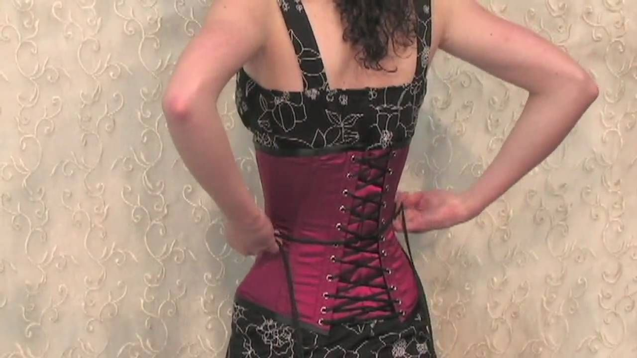 How to lace a corset yourself corsets and bustiers