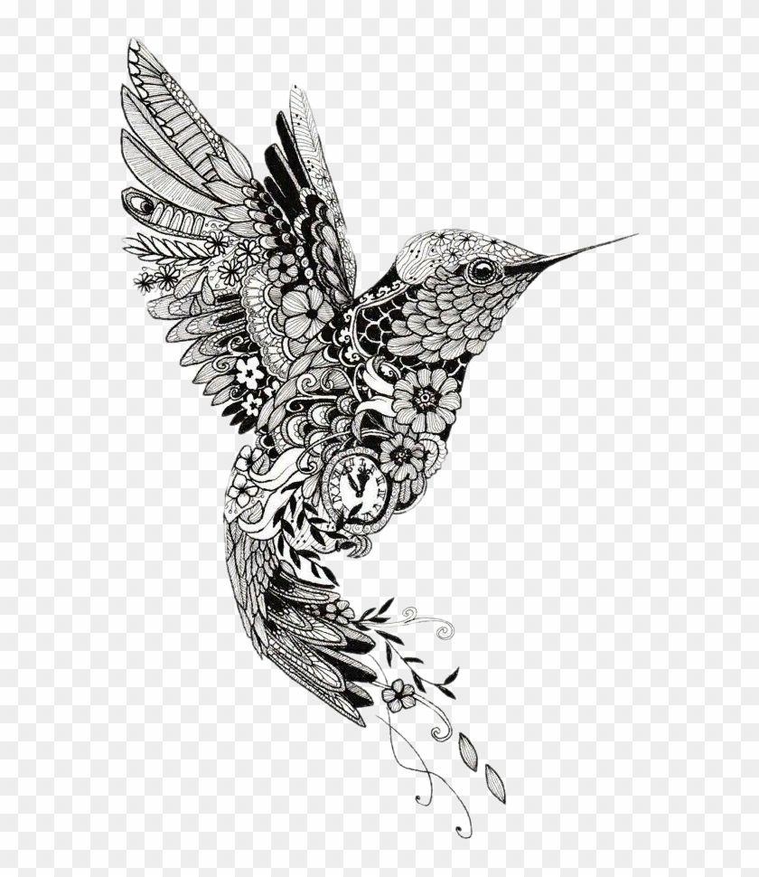 Photo of Tattoo Henna Mehndi Mandala Bird Hummingbird Clipart – Hummingbird Mandala Tattoo, HD Png Download(577×890) – PngFind