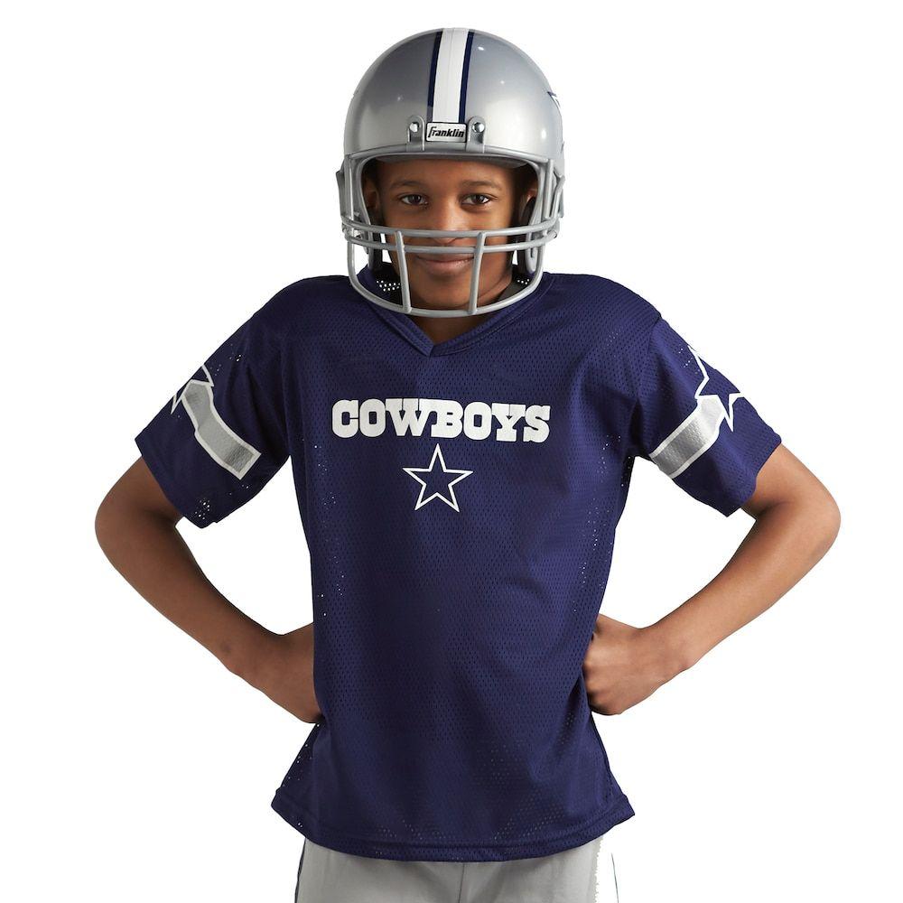 new product 0446e 86be3 Franklin Dallas Cowboys Football Uniform - Kids, Medium ...